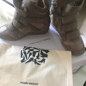 Isabel Marant The Beckett sneakers